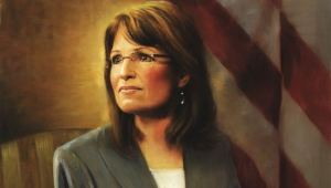 palin flattering painting