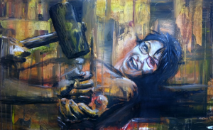 Palin victim painting